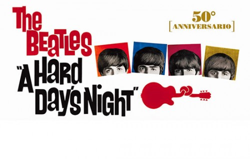 """A Hard Day's Night"", i Beatles restaurati al cinema"