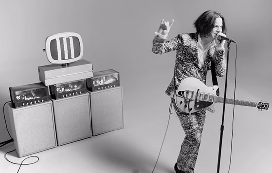 "Jack White: il video di ""Lazaretto"""