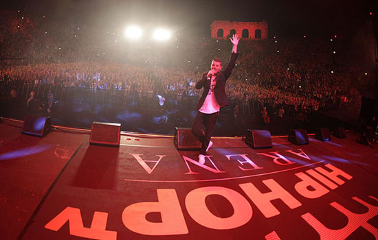 Hip Hop Tv Arena: i rapper invadono Verona