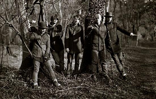 I Radiohead fotografati nel 2011 da Sebastian Edge