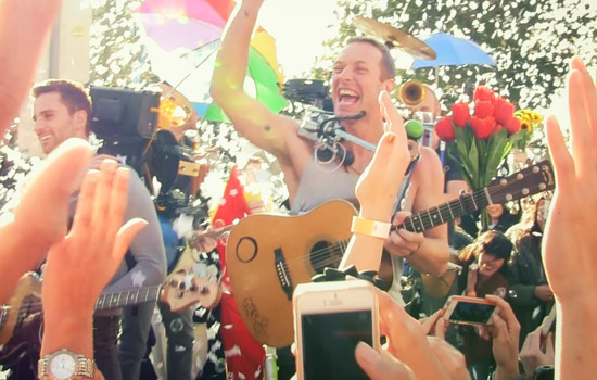"Chris Martin: ""La musica mi ha salvato la vita"""