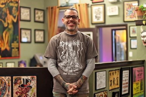 """Lindsey Carmichael di """"Gold Rush Tattoo"""", foto di Marco Annunziata"""