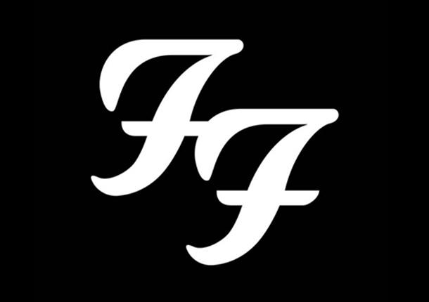 Il celebre logo dei Foo Fighters