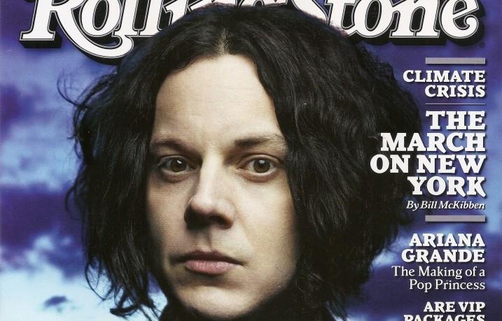 Jack White sulla copertina di Rolling Stone