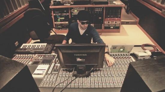 Dj Shablo in studio