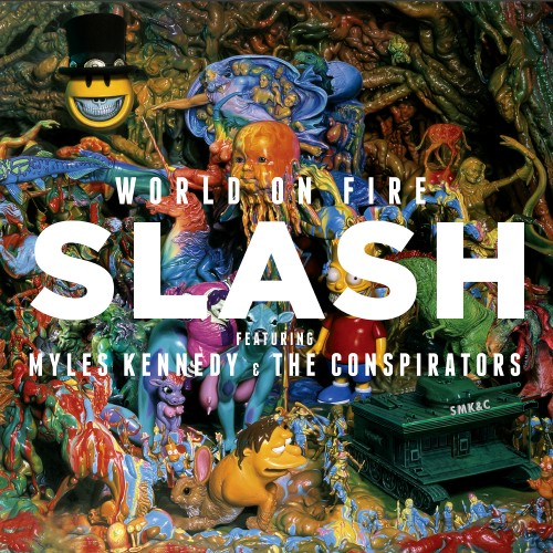 World on Fire - Slash (featuring Myles Kennedy and the Conspirators)