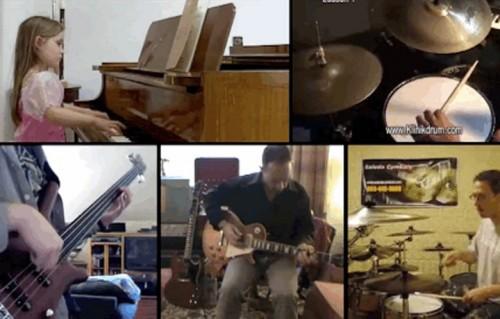 Una canzone composta con... 23 video di YouTube