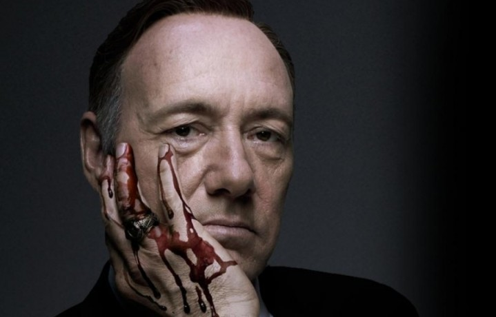 """Kevin Spacey è il parlamentare democratico Frank Underwood in """"House of Cards"""""""