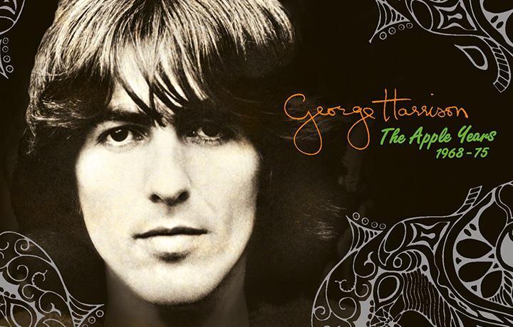 "La copertina di ""The Apple Years"" di George Harrison"