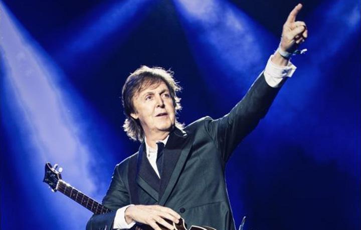 McCartney fotografato da MJ Kim