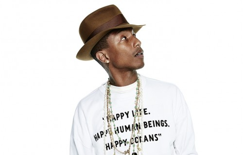 Pharrell Williams nella foto di G-Star RAW