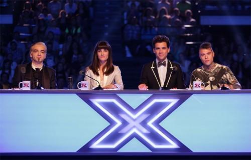 La giuria di X Factor, foto stampa