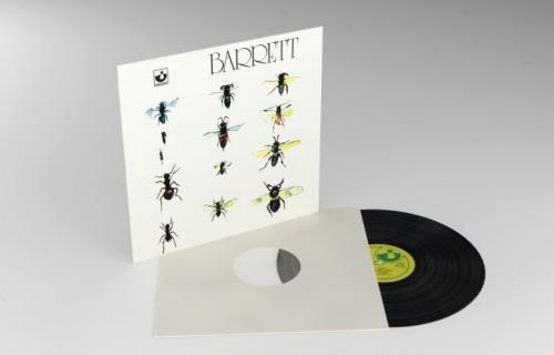 La ristampa in vinile di Barrett, registrato agli Abbey Road Studios nel 1970 (produttore: David Gilmour)