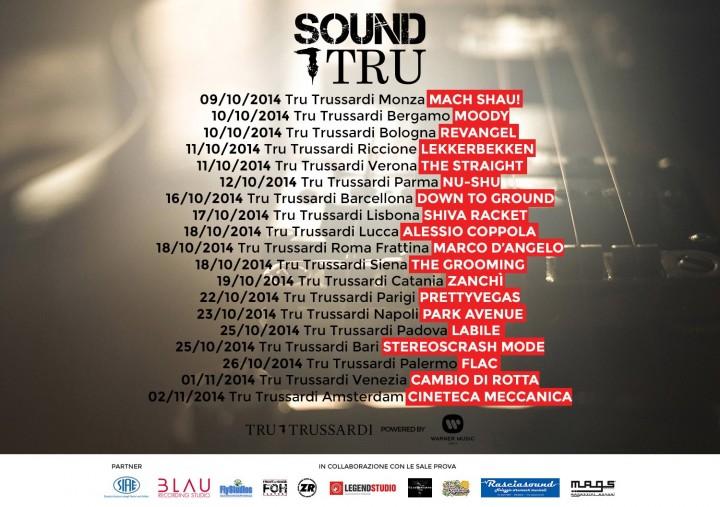 SoundTru, le date