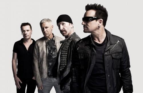 U2 fotografati da John Wright