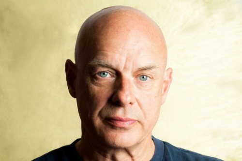 Brian Eno, foto via Facebook