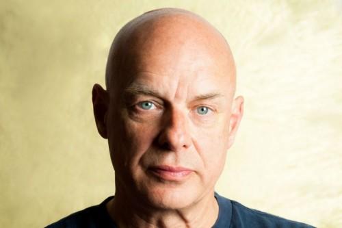 Brian Eno, foto via Facebook