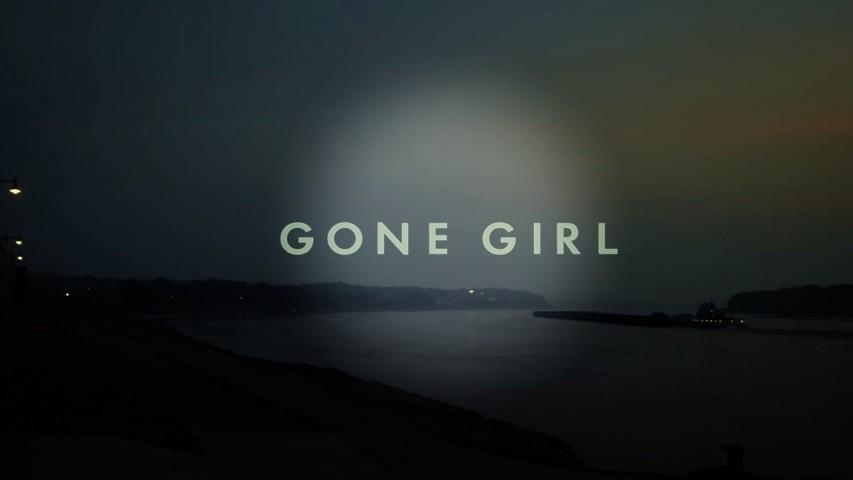 "La locandina di ""Gone Girl"""