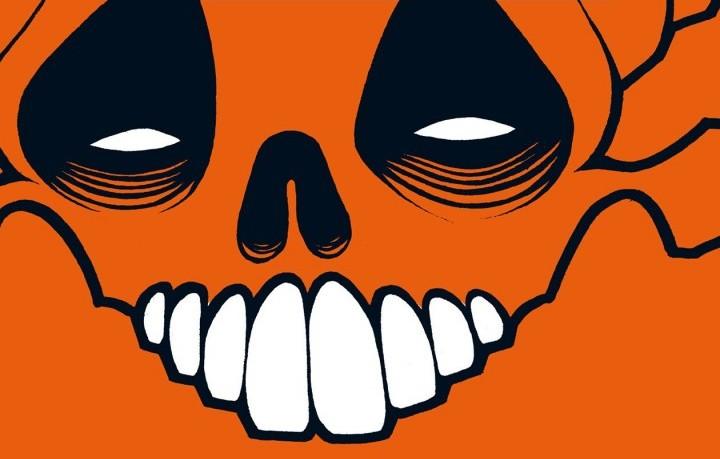 """Un dettaglio della copertina di """"L'albero di Halloween"""" di Ray Bradbury"""