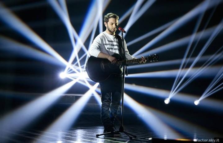 Lorenzo Fragola a X Factor 8