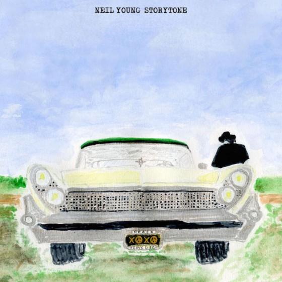 """La copertina di """"Storytone"""", nuovo album di Neil Young"""