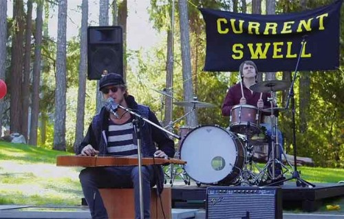Current Swell, surf-rock dal Canada. In esclusiva il video di Rollin