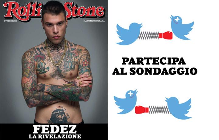 """Federico """"Fedez"""" Lucia, 24 anni, sulla copertina del nostro numero di ottobre"""