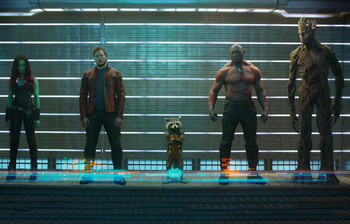Un'immagine di Guardiani della Galassia