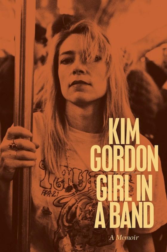 """La copertina di """"Girl in a band"""", l'autobiografia di Kim Gordon"""