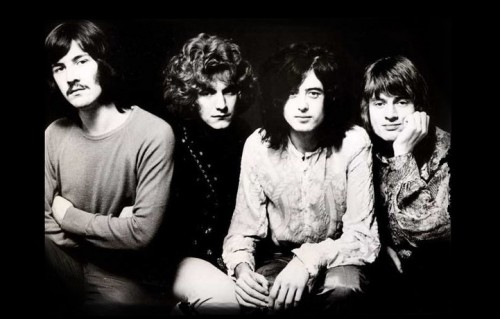 I Led Zeppelin sono Robert Plant, Jimmy Page, John Paul Jones e John Bonham