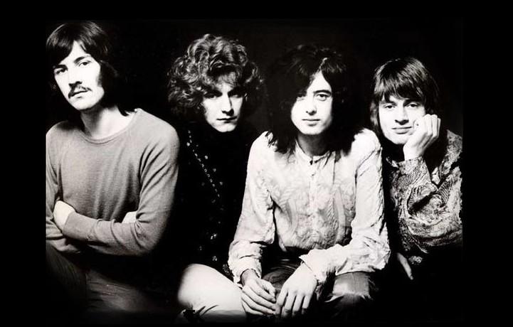 I Led Zeppelin sono Robert Plant, Jimmy Page, John Paul Jones e John Bonham
