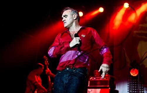 Morrissey live a Roma, foto di Ilaria Magliocchetti Lombi