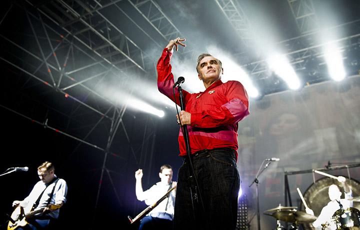 Il live di Morrissey al club Atlantico di Roma