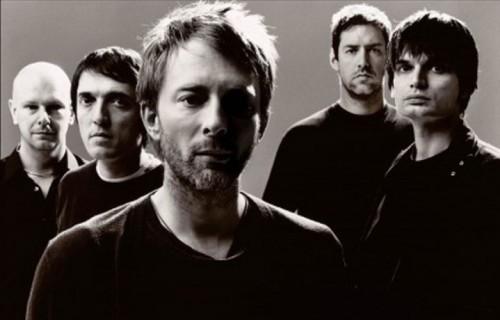 I Radiohead - Foto via Facebook