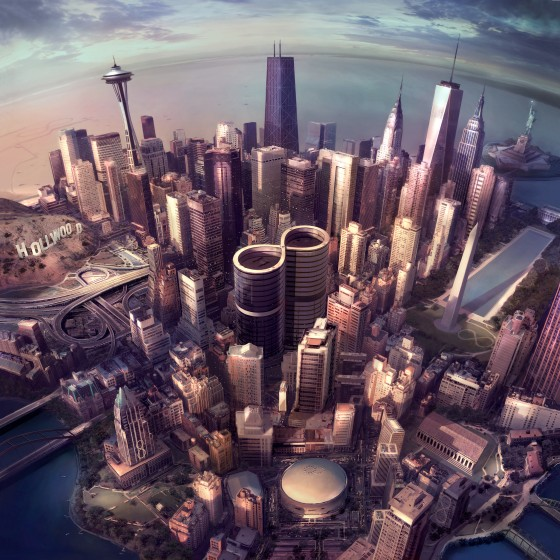"La copertina di ""Sonic Highways"", il nuovo album dei Foo Fighters"