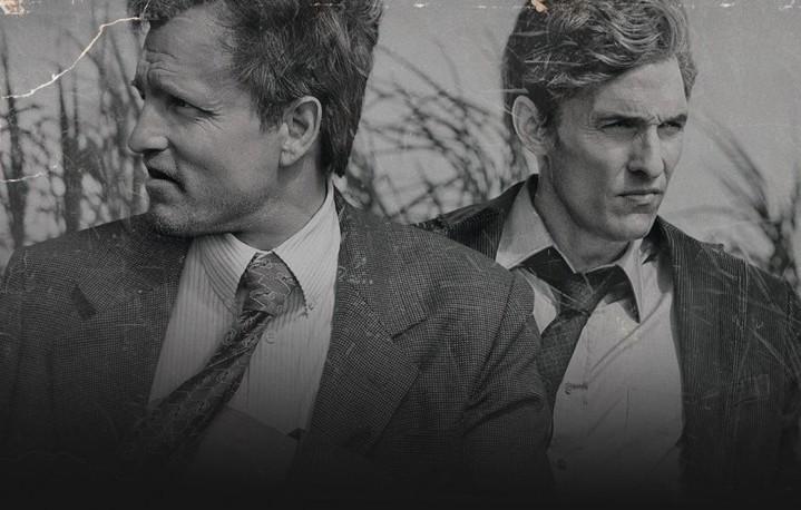 """Woody Harrelson e Matthew McConaughey nella prima stagione di """"True Detective"""""""