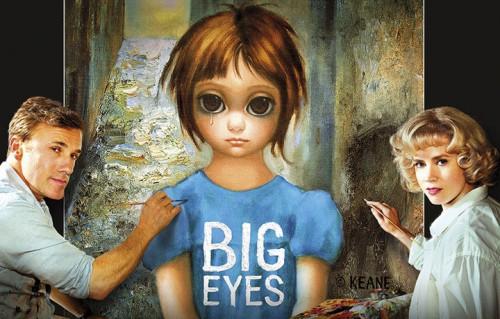 """Un dettaglio del manifesto italiano di """"Big Eyes"""""""