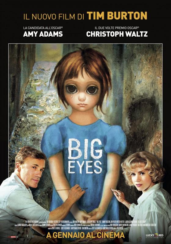"""Il manifesto italiano di """"Big Eyes"""""""