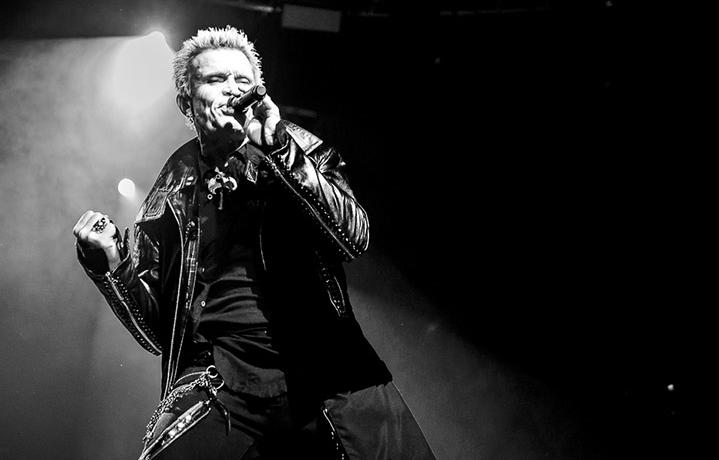 Billy Idol in concerto a Milano ieri sera (foto: Michele Aldeghi)