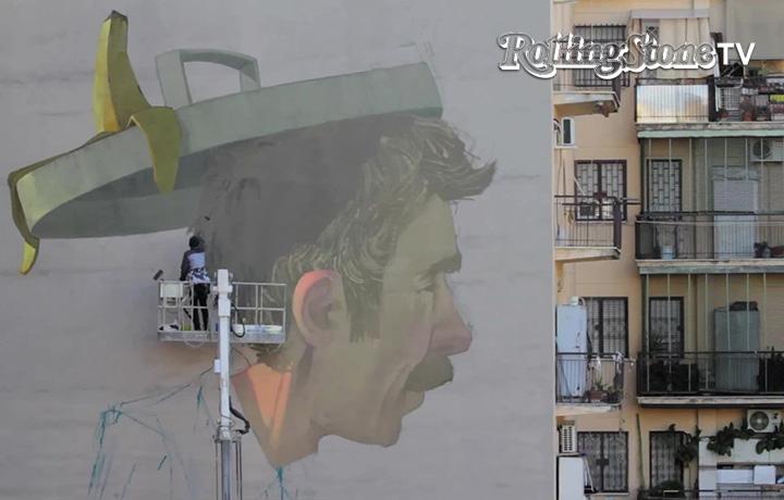Roma - Com'è nato il più grande graffito della capitale, firmato Etam Cru
