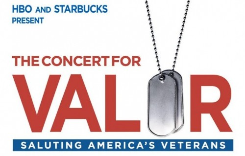 Il concerto per i veterani si è tenuto ieri sera a Washington, davanti al National Mall