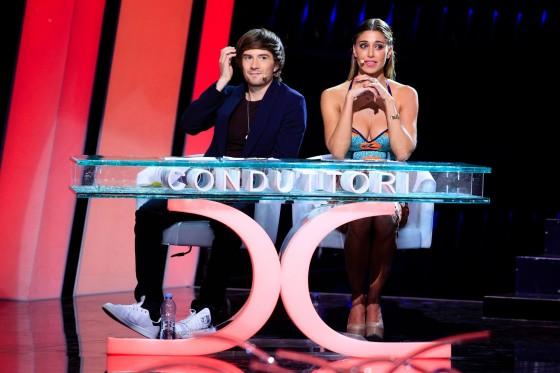 "Francesco Sole e Belen Rodriguez al talent show ""Tú sí que vales"" (Canale 5)"