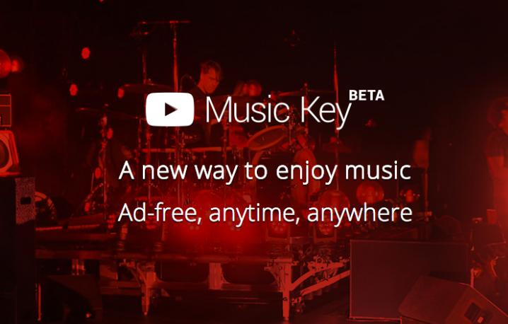 Music Key, il nuovo servizio premium di streaming musicale di Google