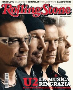 La copertina di Rolling Stone di novembre