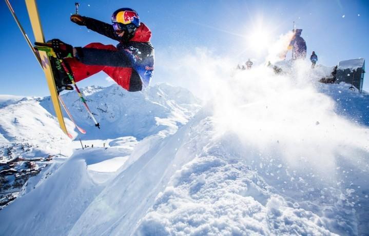 Markus Eder, sciatore freestyler dello Swatch Pro Team. È di Brunico (Bolzano), ha 23 anni