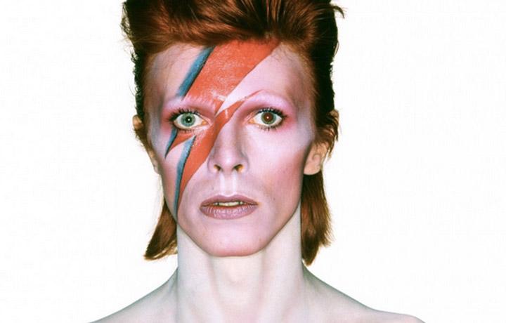 """Il ritratto della locandina del film """"David Bowie is"""", foto stampa"""