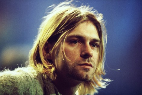 Kurt Cobain, screenshot durante MTV Unplugged