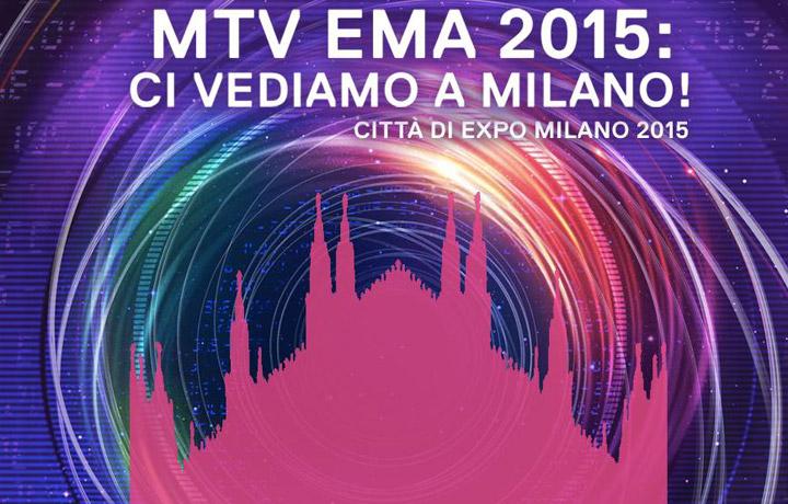 """MTV EMA 2015: ci vediamo a Milano!"", foto via Facebook"