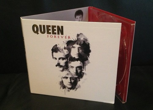 "Il cd di ""Queen Forever"""
