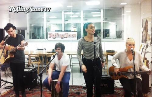 Gli Sheppard suonano nella redazione di Rolling Stone. Il gruppo australiano deve il suo nome ad Alan Shepard, il primo americano ad andare nello spazio (1961)